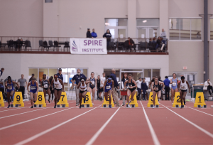 SPIRE event with runners at the stating block