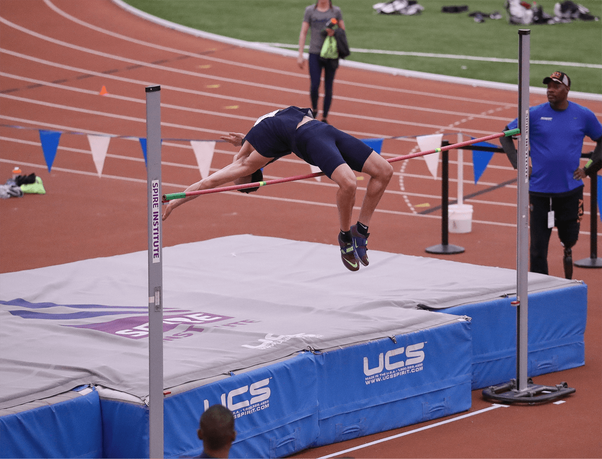 SPIRE indoor track and field event